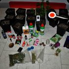 Coltivava marijuana in garage, 