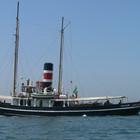 Massa Lubrense,torna a Marina di Puolo il rimorchiatore a vapore «Pietro Micca»