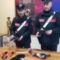 Razzia notturna di cerchi in lega,  ladri in trasferta presi dai carabinieri