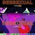 Pornhub protegge le api: fiori e gemiti dagli attori hard per la campagna Beesexual