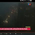 Argentina e Uruguay, maxi blackout
