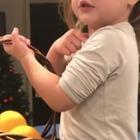 Elisabetta Canalis e il primo video della figlia Skyler che parla italiano con l'accento inglese