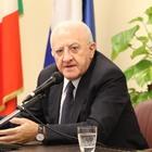 Sanità in Campania, De Luca al Tar: «Ricorso contro commissariamento»