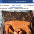Louis Vuitton tarocche in vendita online: WG il primo gruppo web gratuito in Italia contro i fake