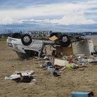 Grecia, tornado killer uccide sei turisti: morti anche papà e figlioletto due anni