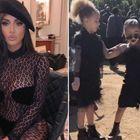 Kim Kardashian nella bufera per il look della figlia North: ecco cosa è successo