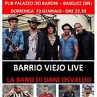 Osvaldo, l'ex bomber in concerto a Benevento con «Quelli che il calcio»