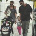 Francesco Arca e Irene Capuano con i figli Maria Sole e Brando