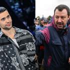 Riecco Salvini: «Non ce l'ho con Mahmood, ma Sanremo deciso da una giuria di radical chic»