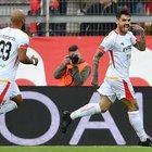 Benevento, vittoria show a Perugia: 4-2 in rimonta, doppietta di Viola