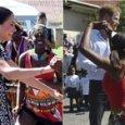 Il ballo di Meghan in Sudafrica insieme al principe Harry