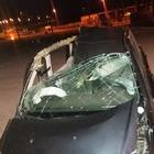 Notte di spavento sull'A2: incidenti, autocisterne in fiamme e sbadati
