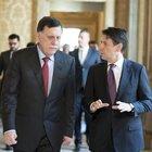 Libia, Conte incontra Sarraj: «Rafforzare cooperazione migranti»