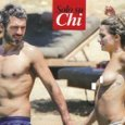 Luca Argentero e Cristina Marino in topless a Mykonos