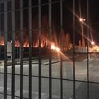 Ecoballe in fiamme nello Stir: è allarme bomba ecologica