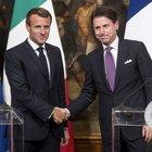 Macron a Roma da Conte: sul tavolo il piano per l'emergenza migranti