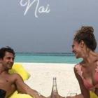 Cristina Chiabotto, «luna di miele» al mare: fuga alle Maldive per un anno d'amore con Marco Roscio