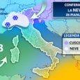 Meteo, neve in arrivo anche in pianura: ecco dove e quando (IlMeteo.it)