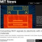 Corrente elettrica generata dal wi-fi: «Potremo costruire smartphone senza batterie»