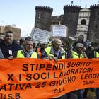 Coop 25 Giugno, de Magistris accusa il governo: «Subito i soldi»