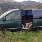 Auto abbandonate nei boschi,  fioccano multe da 1666.67 euro