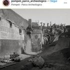 Lo scatto del 1910 degli Scavi di Pompei è virale