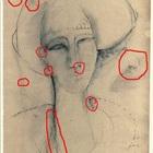 """Scoperte le """"impronte"""" di Amedeo Modigliani nella Femme Fatale esposta a Spoleto"""