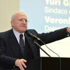 Sanità, De Luca tuona dal Ruggi: «Commissariamento doveva finire»