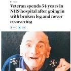 Addio al veterano James, 54 anni in ospedale per una gamba rotta
