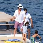 Vacanza in Costiera Amalfitana per l'attore Matthew McConaughey