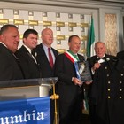 Sorrento, il sindaco Giuseppe Cuomo premiato a New York con l'International Man of the year Award