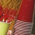 Piatti di plastica via dai supermercati