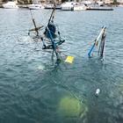 Acciaroli, peschereccio affonda mentre è ormeggiato nel porto
