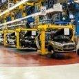 Una fabbrica di automobili