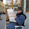 Banksy a Venezia, quale dei due uomini è il misterioso artista?