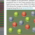Di che colore sono le sfere? L'illusione ottica diventa virale