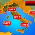 Meteo, altro che autunno: a Napoli torna il caldo «fino a 28 gradi»