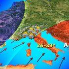 Pasqua con temperature estive al Sud, rischio alluvioni al Nord