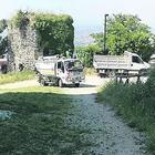 Universiadi, il castello liberato da erba e rovi per accogliere gli atleti