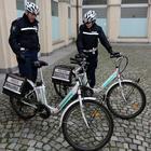 Tufino, bici elettriche per la polizia locale: i vigili diventano «green»