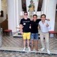 Capri, Sal Da Vinci visita l'antica chiesetta di Sant'Anna nel borgo medievale