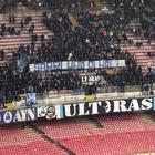 Napoli, il San Paolo invoca Sarri: spunta lo striscione per l'ex azzurro