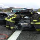 Carambola sull'A16 Napoli-Canosa: cinque feriti, gravissimi due giovani