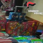 Giochi e luci di Natale pericolosi,  sequestrati mille prodotti ad Avellino