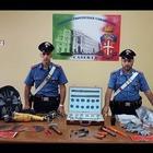 Caserta, in auto con il corredo del ladro professionista: arrestato dai carabinieri