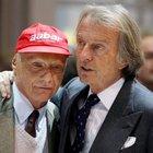 Montezemolo:«Caro Niki, tu eri grande in pista e fuori»