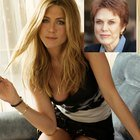 Jennifera Aniston e sua madre Nancy Dow