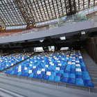 Stadio San Paolo rifatto e violato: già rubati i nuovi faretti nei bagni