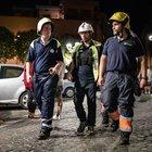 Terremoto, la lunga notte di paura a Colonna
