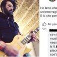 Lele Spedicato, la frase choc contro il chitarrista dei Negramaro: «Spero che muoia perché fa musica di merda»